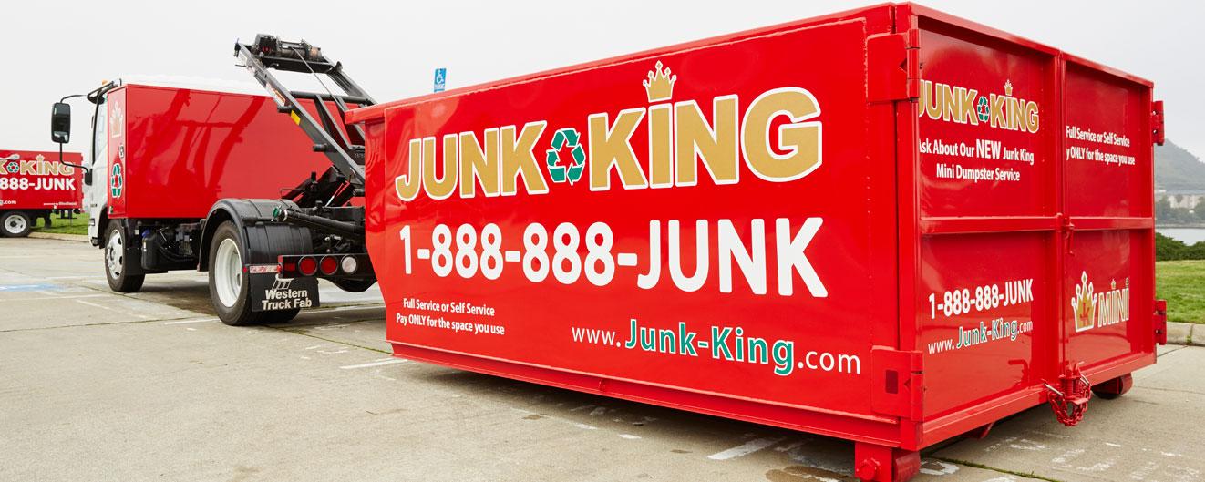 Dumpster Rental Services | Items We Take | Junk King
