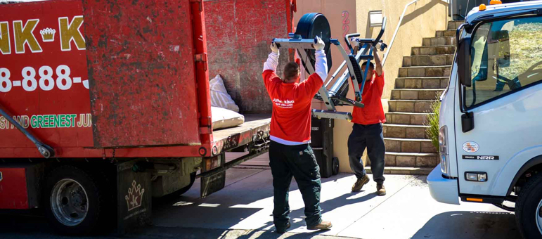 Full Service Junk Removal Services | Junk King