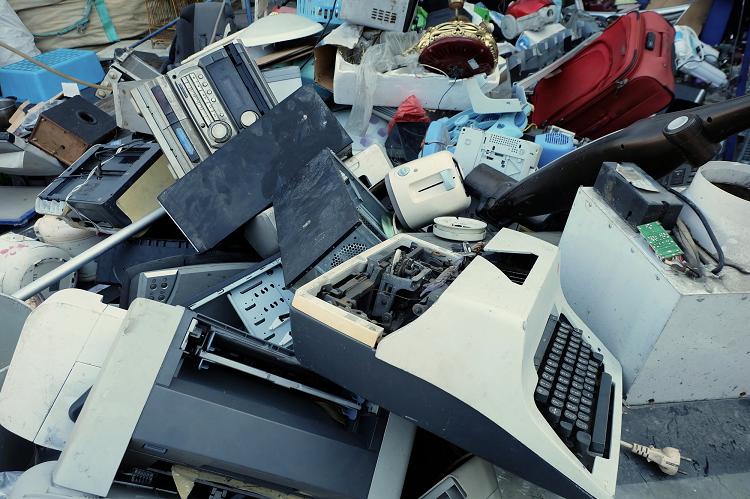 Junk and E-waste Debris