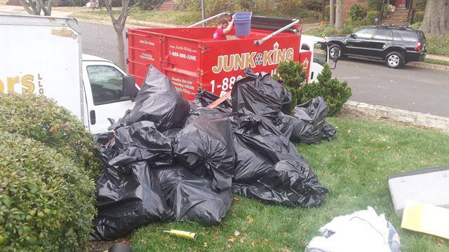 Junk removal pickup