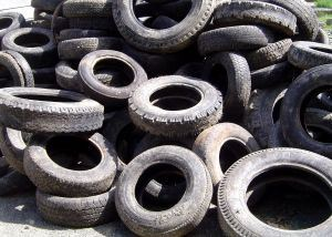Illegal Tire Dumping