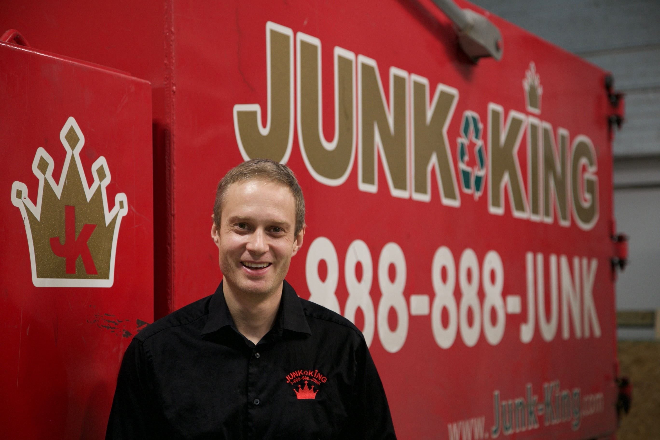 Junk King Franchise Owner,  Hagen Kern.