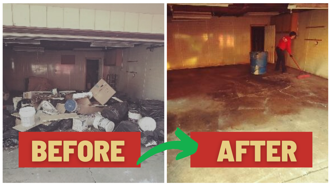 Junk Removal Chicago Downtown Before After