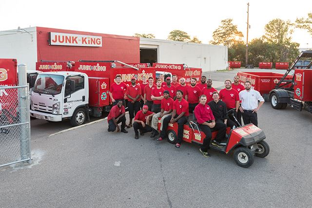 Junk King Franchise Owner,  Pete McCreary.