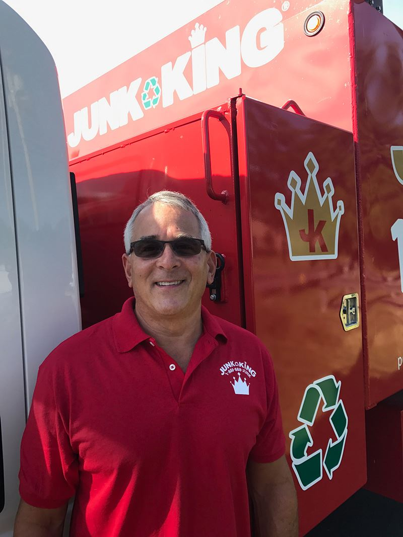 Junk King Franchise Owner, Jeff Schwartz.