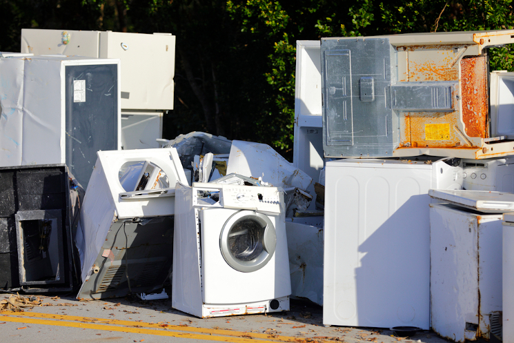 old appliance removal in contra costa