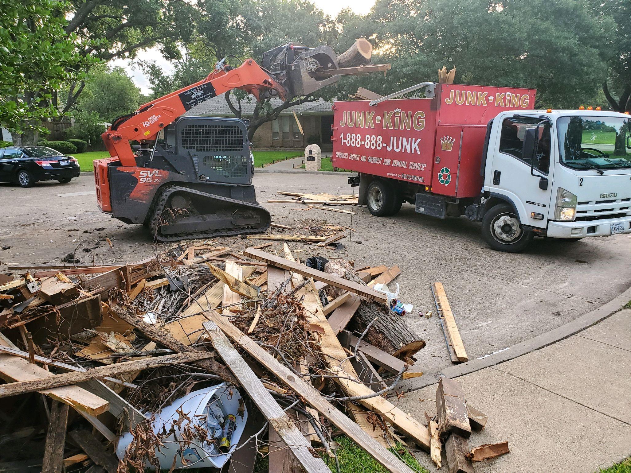 Dallas Junk Removal Pickup Service