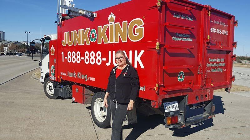 Renee Ferguson, Queen of Junk Removal in Dallas