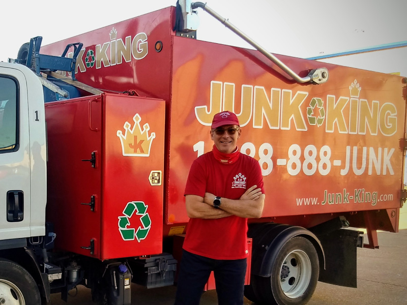 Junk King Franchise Owner,  Jose Urdaneta.