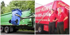 Trash Services and Junk King have different operation models