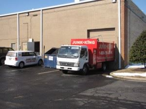 JUnk KIng's 2500 sqft warehouse for sorting