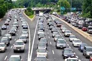 Traffic on highway