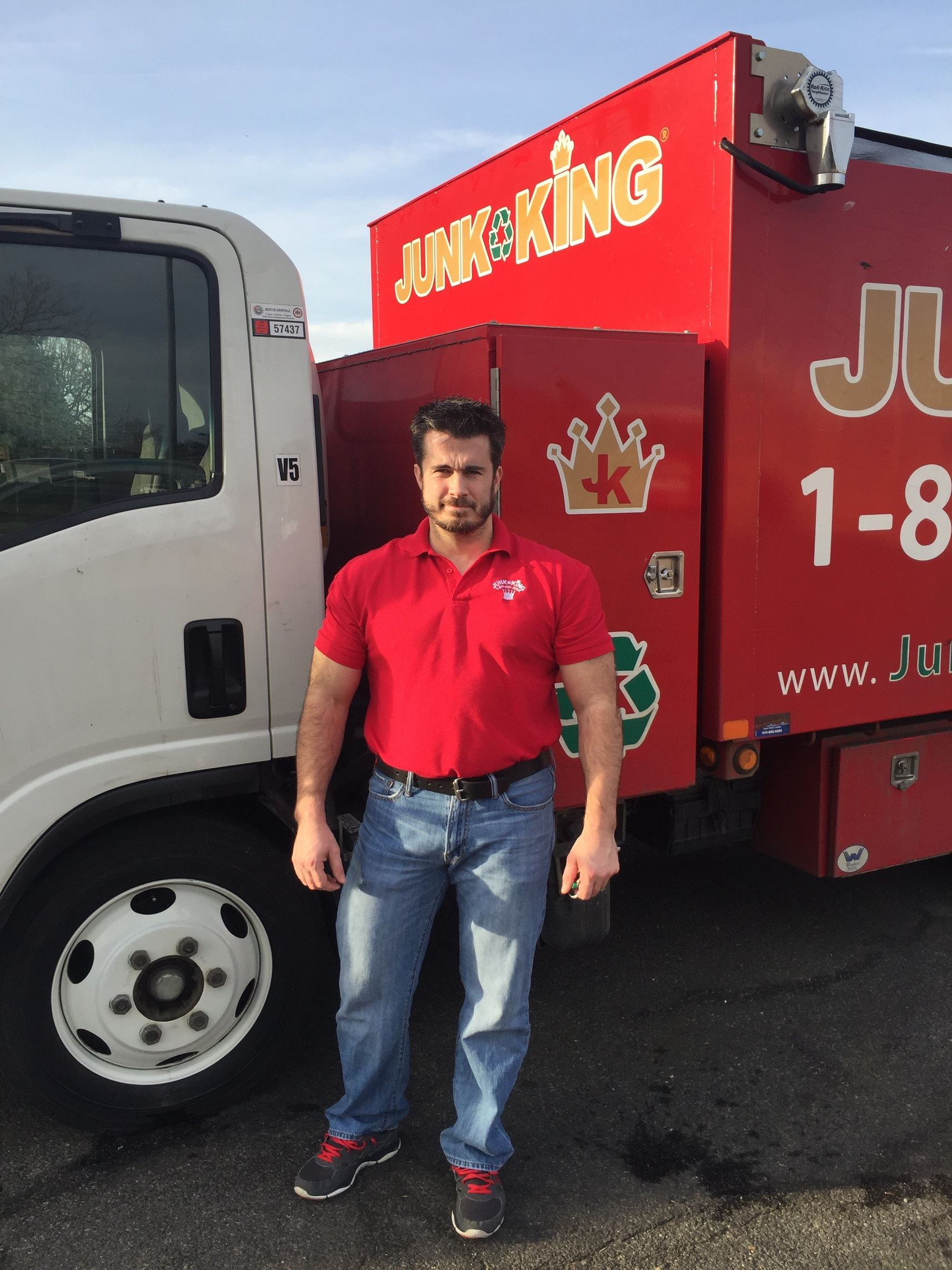 Junk King Franchise Owner,  Alex Powers.