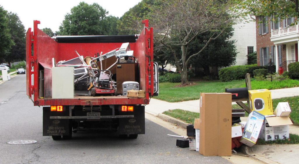 junk removal in fairfax area