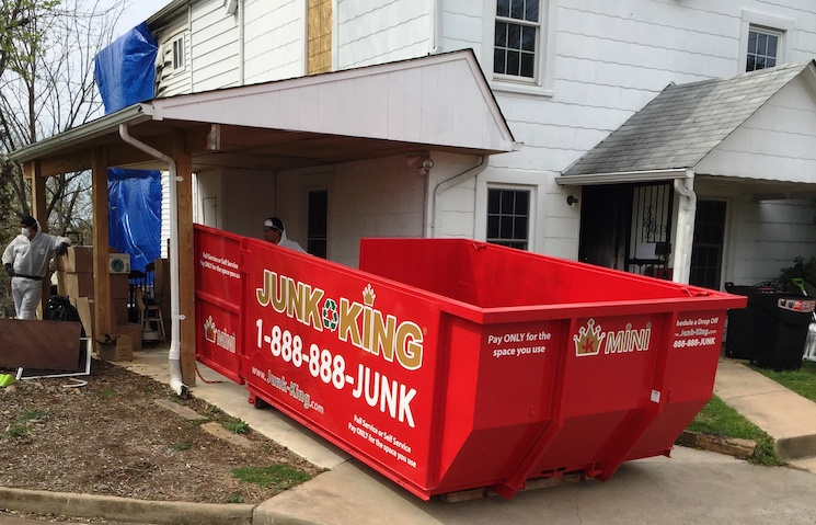 deck removal options and dumpster rental in fairfax