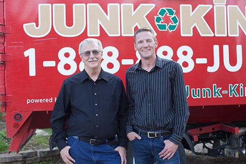 Junk King Franchise Owner, Adam Wasson.