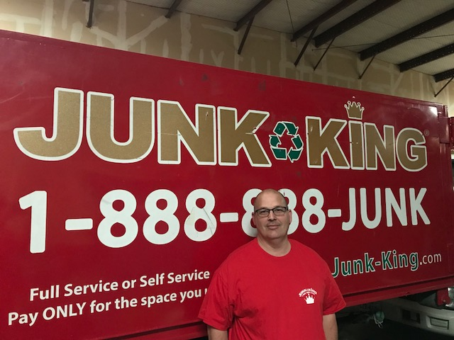 Junk King Franchise Owner, Cody Rodgers.