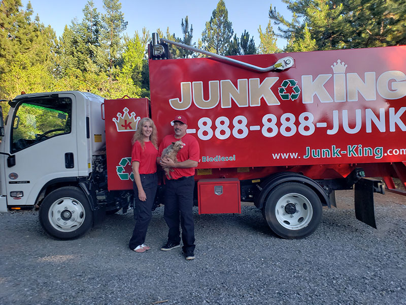 Junk King Franchise Owner, John McCue.