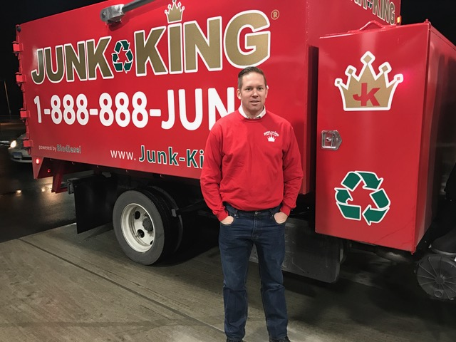 Junk King Franchise Owner, Mark Borden.