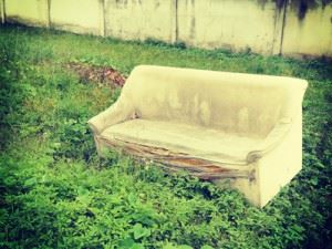 Getting Rid of an Old Couch - Gertrude