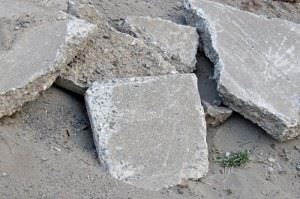 Great Uses for Broken Concrete Chunks Junk-King Marin