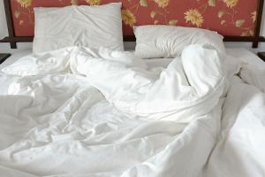 Bed, pillows and Mattress