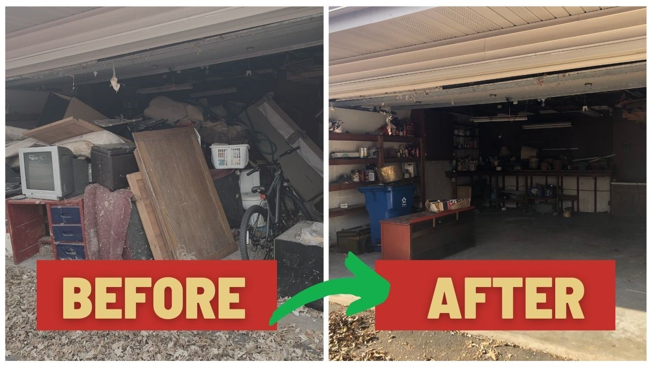 Junk Removal Minneapolis Before & After