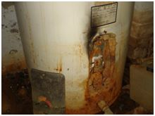 water heater disposal CA