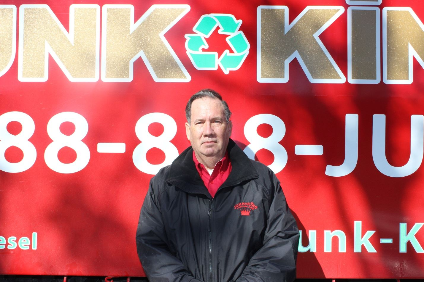 Junk King Franchise Owner,  Bill Rice.