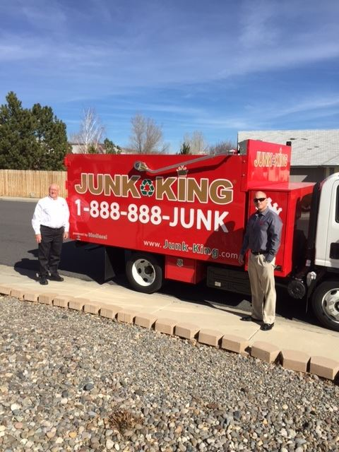 Junk King Franchise Owner,  Brian and Mike Cassidy.
