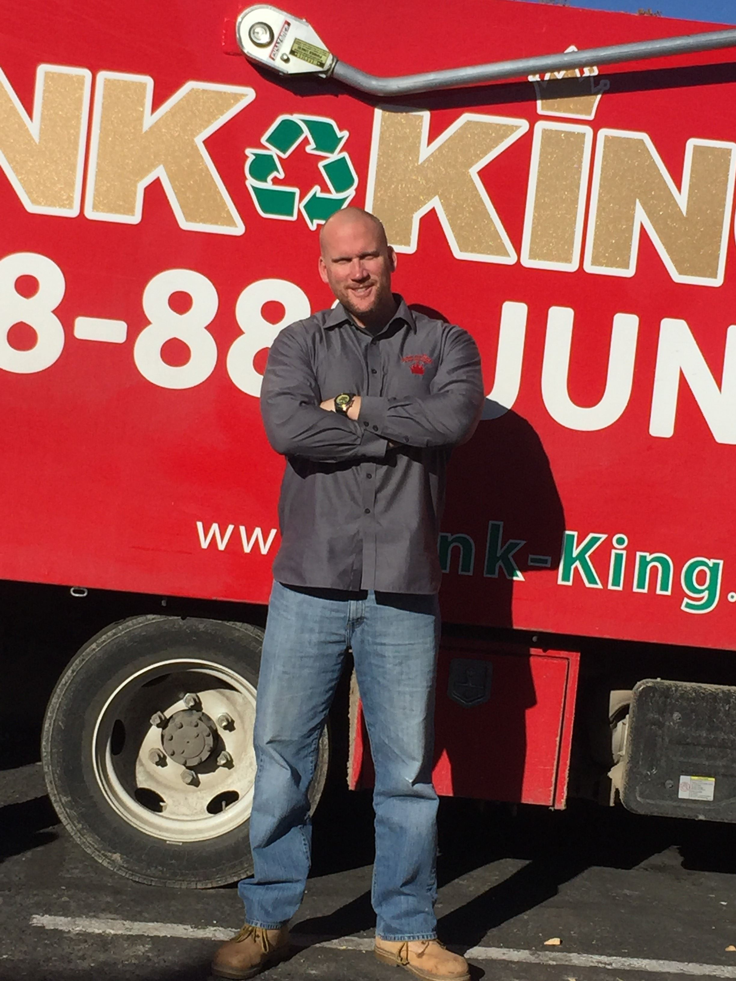 Junk King Franchise Owner, Brian Cassidy.
