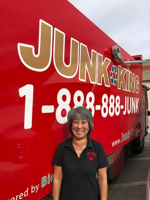 Junk King Franchise Owner,Yoko Stone.