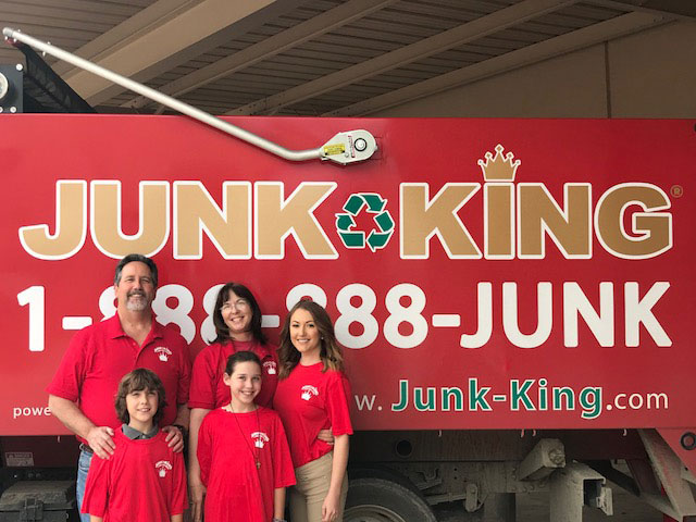Junk King Franchise Owner,  Michael Hasselbalch.
