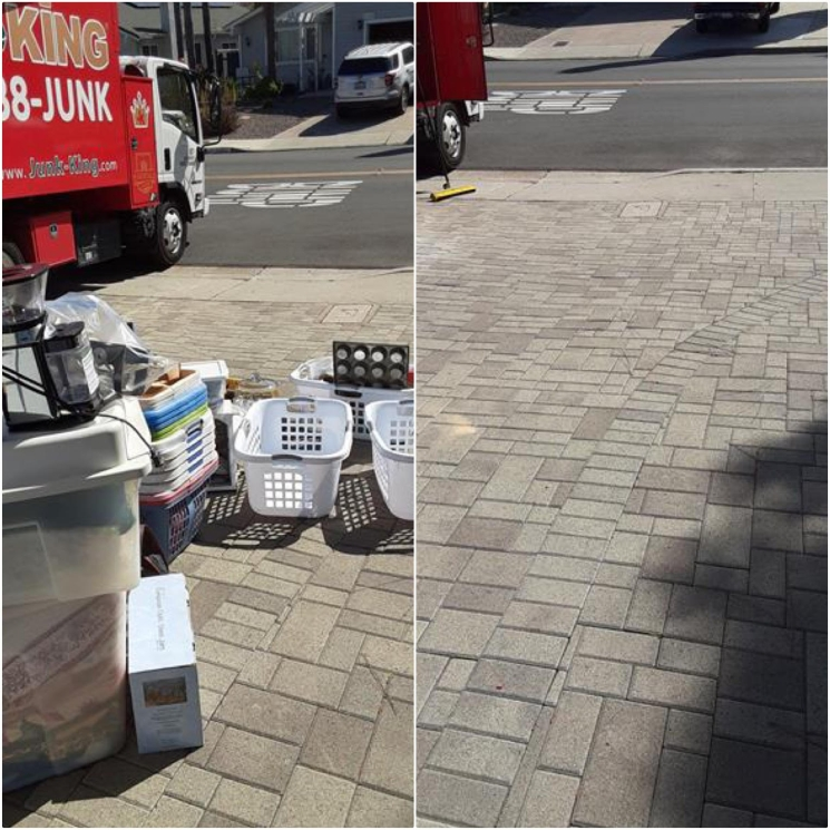residential junk removal for spring cleaning in mira mesa