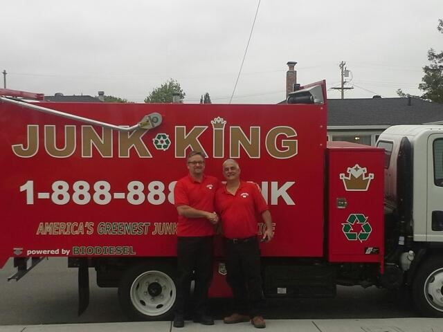 Junk King Franchise Owner,  Matt Verga.