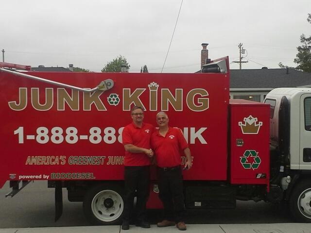Junk King Franchise Owner,  Matt Verga.