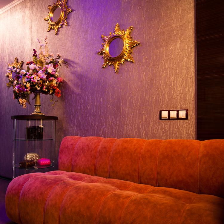 Sofa Chair in a bar lounge