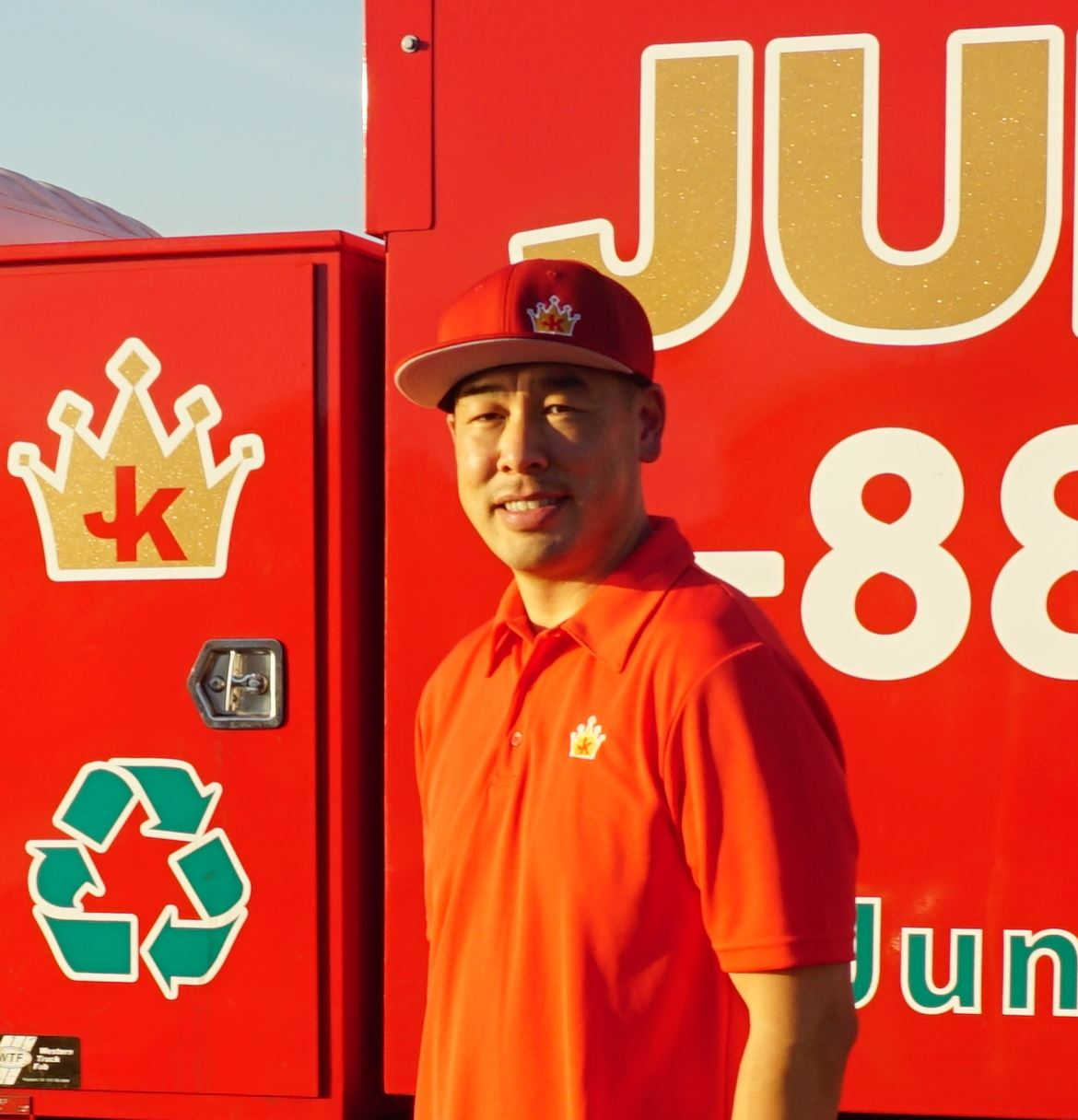 Junk King Franchise Owner, Jeff Wong.