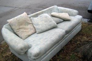 get rid of old couch