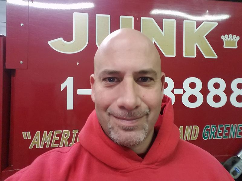 Junk King Franchise Owner,Henry Vercillo.