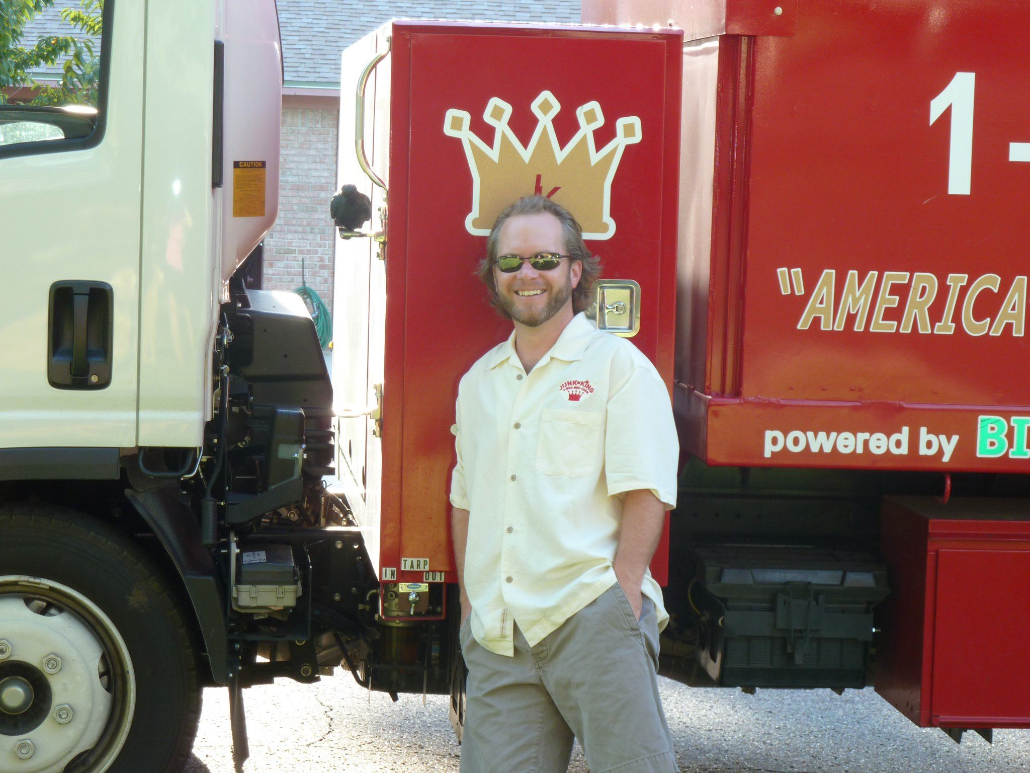 Junk King Franchise Owner,  Kelly Miller.