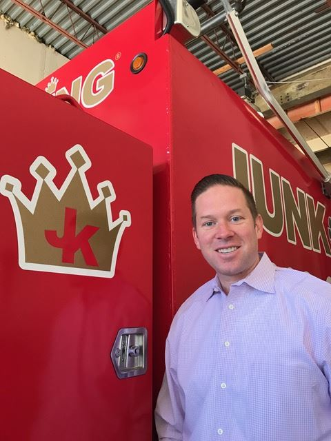 Junk King Franchise Owner, Tom Mccabe.