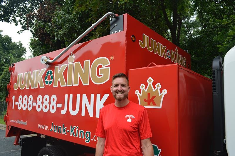 Junk King Franchise Owner, Erik Korondy.