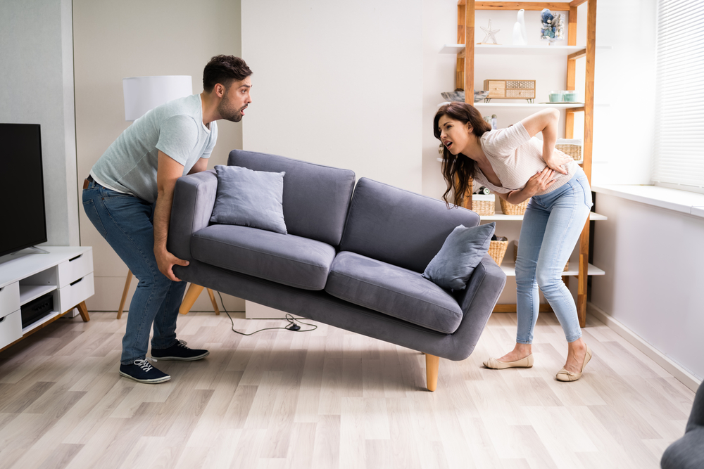 Back Pain Furniture Removal