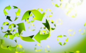 Recycle Symbol Spring